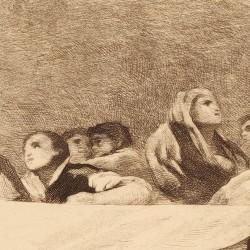 Grupo segundo de la cúpula al lado derecho de la parte central