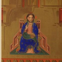 Hornacinas del entablamento del tríptico-relicario del Monasterio de Piedra de Aragón (Real Academia de la Historia)
