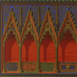 Back of the triptych-reliquary of the Monasterio de Piedra (Royal Academy of History)