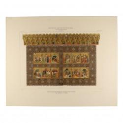 Triptych-reliquary from the Monasterio de Piedra (Royal Academy of History)