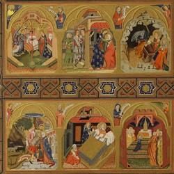 Tríptico-relicario procedente del Monasterio de Piedra (Real Academia de la Historia)