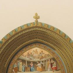 Portada de Santa Catalina en el claustro de la catedral (Toledo)