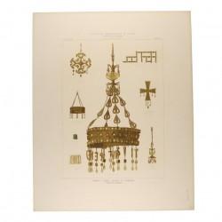 Coronas y cruces visigodas de Guarrazar (Término de Guadamur) [Coronas de Suintila y Teodosio]