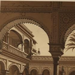 Palacio de los Duques de Alcalá  en Sevilla. Llamado vulgarmente casa de Pilatos