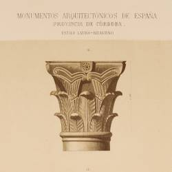 Capiteles de las basílicas católicas conservados en la Mezquita, hoy catedral