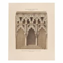 Tribuna árabe (hoy capilla de Villaviciosa) costado izquierdo (Mezquita de Córdoba)