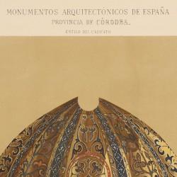 Sección vertical de la bóveda y cúpula del Mihrab (Mezquita de Córdoba)