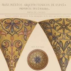 Detalles de la cúpula  del vestíbulo del Mihrab (Mezquita de Córdoba)