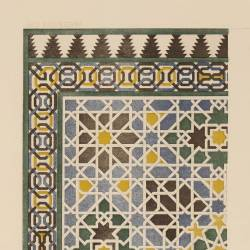 Tiling of the Hall of Ambassadors (Granada)