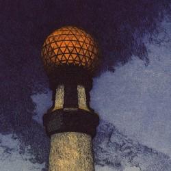 Kursaal bridge lamppost