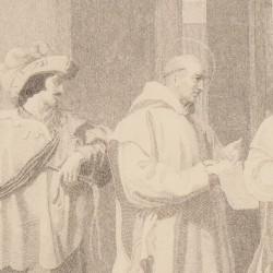 Saint Bruno called by Pope Urbano II. Picture Nº 30