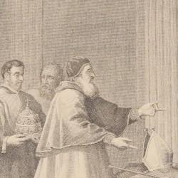 Saint Bruno praying to the Archbishopric of Regio. Picture Nº 24