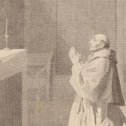 Saint Bruno in prayer. Picture Nº12