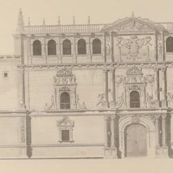 Facade of the Complutense university (Alcalá de Henares)