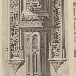 Detalles del claustro de San Juan de los Reyes (Toledo) [Planta, machones y jambar]