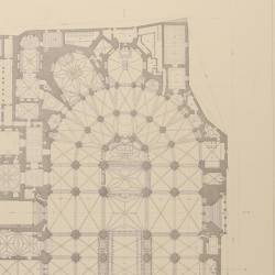 Ground plan of the Holy Primate Church (Toledo)