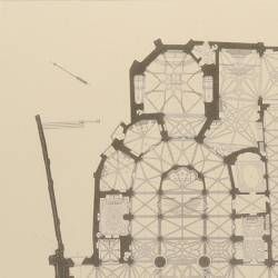 General plan of the Cathedral Church (Burgos)