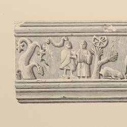 Briviesca sarcophagus, preserved in the Provincial Museum (Burgos)