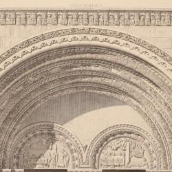 Basilica's façade of S. Vicente, Sabina and Cristeta (Ávila)