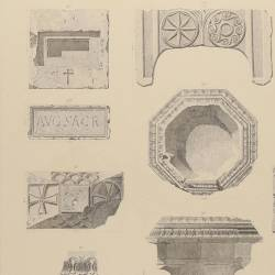 Decorative fragments and civilian and religius objects (Mérida)