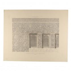 Detalles del salón de la casa llamada de Mesa (Toledo) [Ventanas del testero]