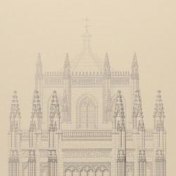 Exterior of the apse of the church of San Juan de los Reyes (Toledo)