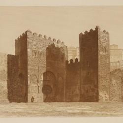 Old door of Bisagra (Toledo)