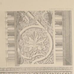 Detalles del salón de la casa llamada de La Mesa (Toledo) [Intradós del arco y machón]