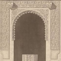 Palace called Las Dueñas in Seville (chapel door)