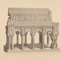 Tomb of the holy martys Vicent, Sabina and Cristeta (Ávila)