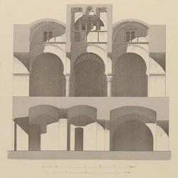 Mezquita llamada de Las Tornerías, construidas sobre restos romanos (Toledo)