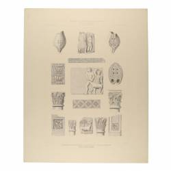 Architectural limbs, bas-reliefs and ceramic objects (Italica, Sevilla, Osuna)