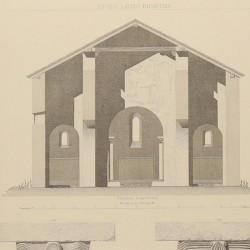 Ground plan, sections and details of San Adrián de Tuñón (Council of Villanueva)