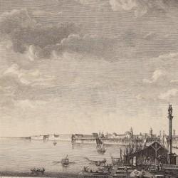 View of the port of Cadiz