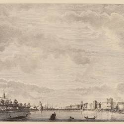 View of the port of Seville
