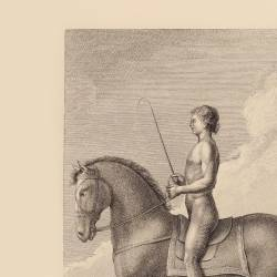 Man on horseback position
