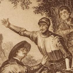Andresillo's escape (8th plate)