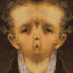 After Goya: selfportrait