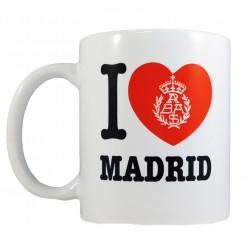 Taza I love Madrid