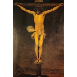 Postal Cristo crucificado