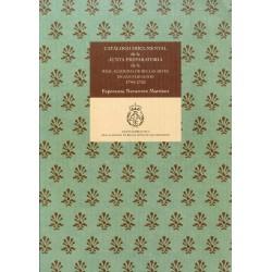 Catálogo Documental de la Junta Preparatoria de la Real Academia de Bellas Artes de San Fernando (1744-1752)