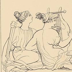 Júpiter y las musas (Lámina 23)