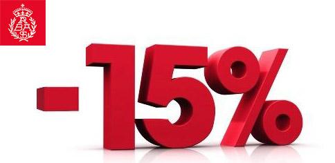 Get 15% off on your registry